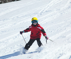 Learning To Ski in Taos