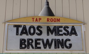 taos mesa brewery tasting room in the ski valley
